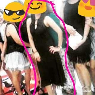 Black Night Party Dress