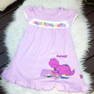 Barney pyjamas (5-6y/o)