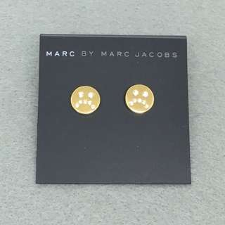 Marc Jacobs Sample Earrings 金色閃石喊包耳環