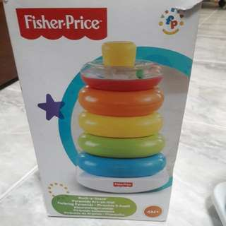 Fisher Price Toy rock a stack