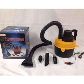DC12V Monlove Wet and Dry Portable Car Vacuum Cleaner (Black/Yellow)