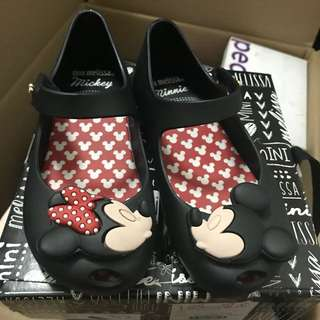 Mini Melissa Shoes Mickey & Minnie