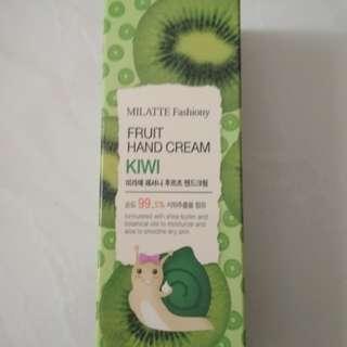 Milatte Fashiony fruit hand cream (kiwi)