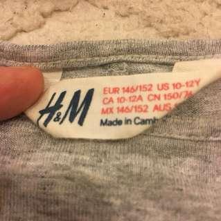 H&M GIRL TOPS