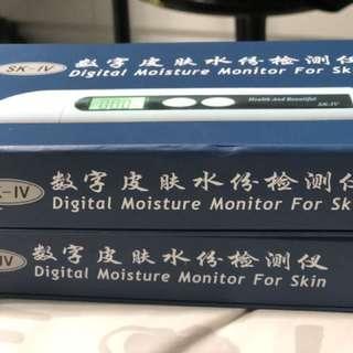 Digital Moisture Monitor for Skin