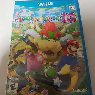 Wii U Game Mario Party 10