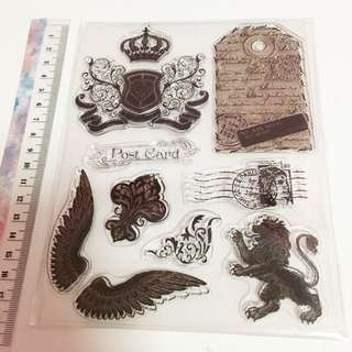 Crest clear stamp