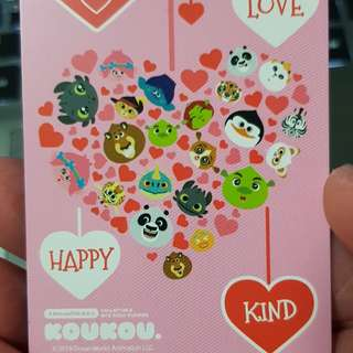 Limited Edition Valentine special EZ Link Card