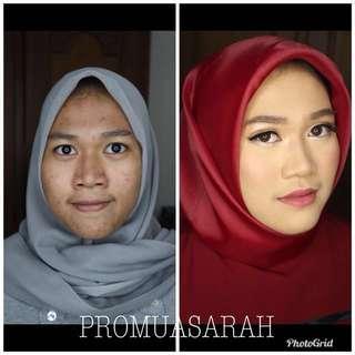 Jasa makeup artis hairdo hair styling rias pengantin prewedding lamaran wisuda jakarta depok cibubur