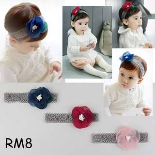 Headband Baby Girl Flower Headband
