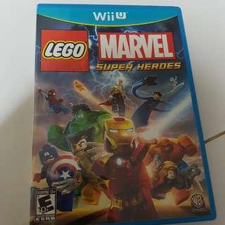 Wii U Game Lego Marvel super heroes