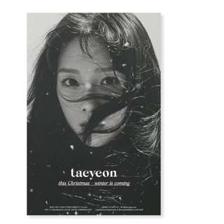 Taeyeon (This Christmas) winter album