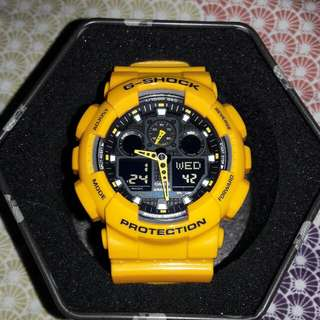 "Authentic G-Shock Watch ""Bumblebee"""