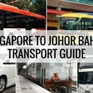SINGAPORE TO JB