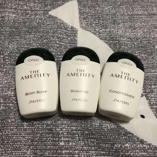 Shiseido The Amenity Shower Set - travel size