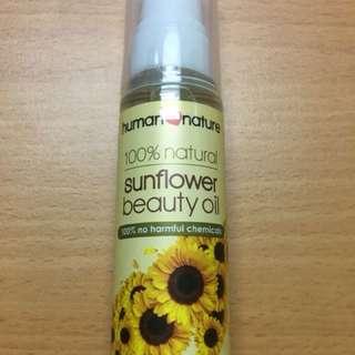sunflower beauty oil 50ml