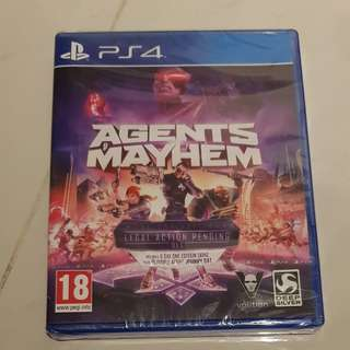 PS4 Game Agents of Mayhem