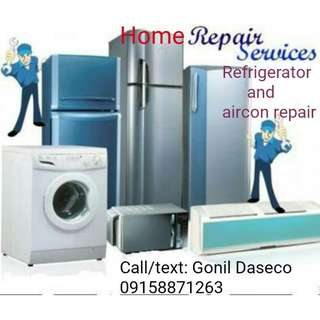 Home Repair Services Air-con and Refrigerator