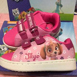 Instock left 2 set only !! No more restock !! Authentic Paw Patrol shoe size 25 brand. New