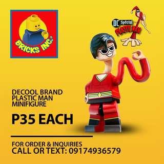 DECOOL Plastic Man Minifigures