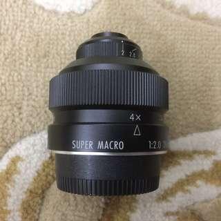 Zhongyi 20mm F2 : 4x -4.5x Super Macro Microscope Lens Nikon Mount