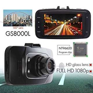 GS8000L Car Camera 2.7˝ Full HD1080P DVR Night Vision Video Recorder
