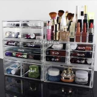 Acrylic Makeup Cosmetic Organizer *FULLSET*