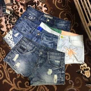 Sexy shorts bundle #6 Size- 25-27