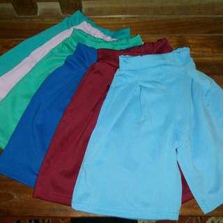 NEW 3 Pcs 100k Kulot Kids / Celana Pendek / Celana Santai /short Pants