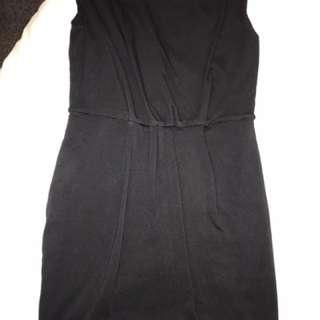 Sleeveless Black Kookai Cotton Dress