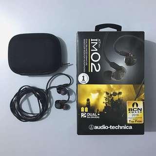 Audio Technica ATH-IM02 Earphones