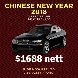 CHINESE NEW YEAR 2018 BMW 14-21 Feb