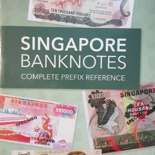 💥NEW💥 Singapore Banknotes Complete Prefix Reference