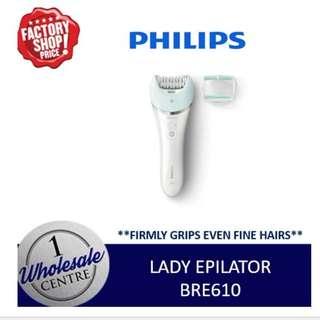 PHILIPS BRE610 LADY EPILATOR