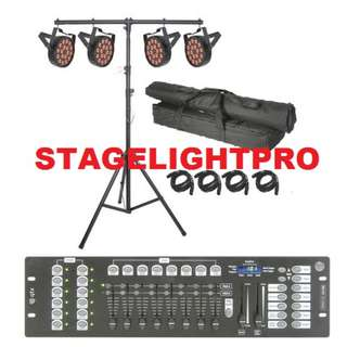 Pro Stage Lights (4pcs) for great events