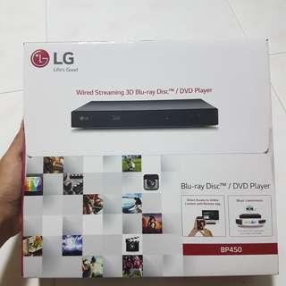 LG Blu Ray Disc/DVD player