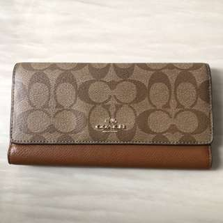 98% New Coach Wallet