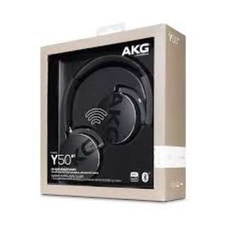 Brand New(Sealed) AKG Y50BT Wireless Bluetooth Headset