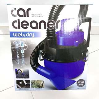 Wet & drt car cleaner