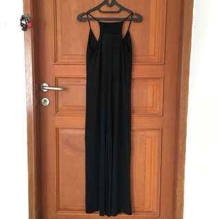 [Preloved] Black Jump Suit