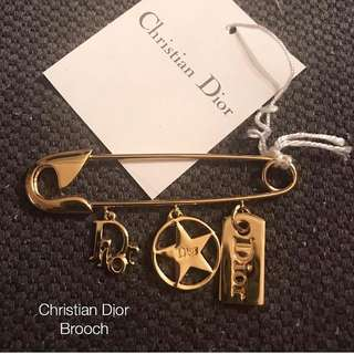Christian Dior brooch Brand new