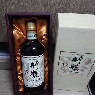 日本威士忌 余市 竹鶴 黑牌