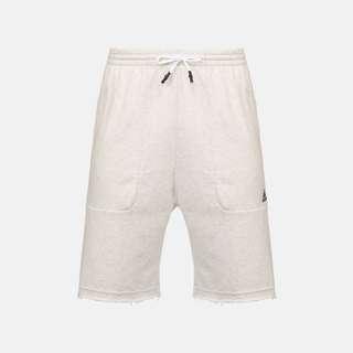 Adidas 運動 短褲 Baggy Training Shorts 訓練 跑步 Running White 白色