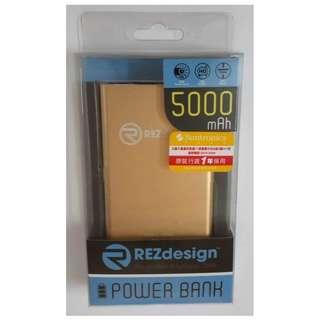 REZdesign 5000mAh Powerbank Portable Electrical external charger 充電器 尿袋