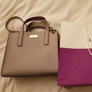 URGENT Becka purple Bag Kate Spade