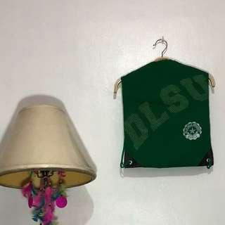 RUSH SELLING!!! DLSU drawstring bag
