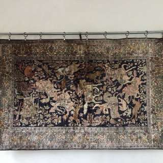 Pure Indian Silk Carpet