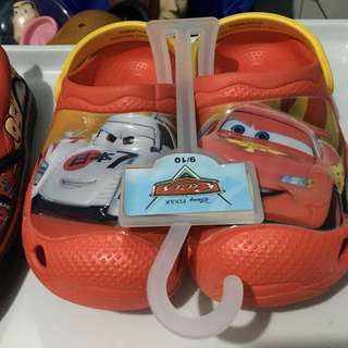 DisneyCars LightningMcqueen Clogs and Aqua Shoes