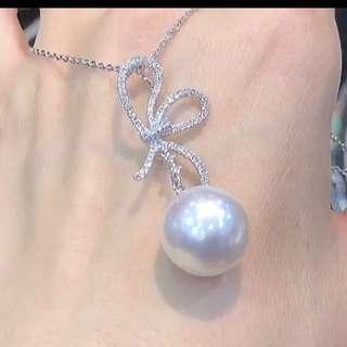東京展即場購買! 南洋海水珍珠💎項鍊 14mm 0.70ct