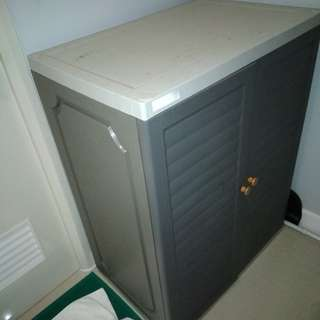 Mega Box Shoe Cabinet Gray